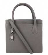LouLou Essentiels Bag Medium Lovely Lizard  dark grey (002)