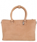 LouLou Essentiels Handtassen Bag Anaconda Bruin