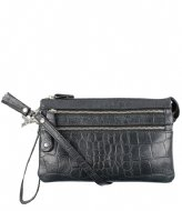 LouLou Essentiels Pouch Vintage Croco black