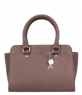 LouLou Essentiels Bag Lovely Lizard taupe