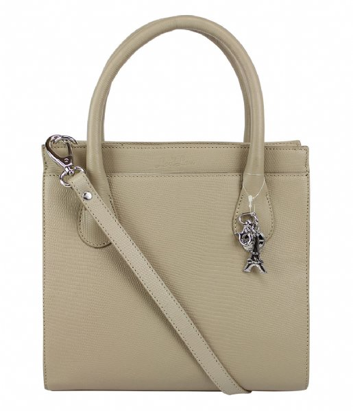 LouLou Essentiels Shopper Bag Medium Lovely Lizard  sand