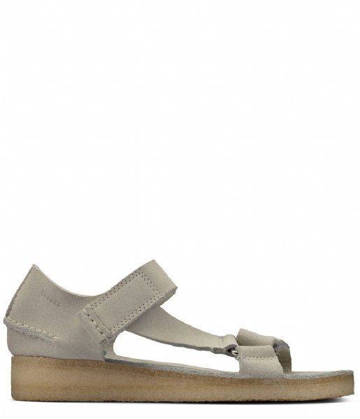 Clarks Originals Sandalen Wallabee Sandal Suede Off white