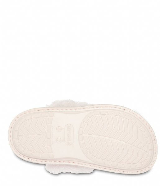Crocs Pantoffels Classic Luxe Slipper Rose dust (60D)