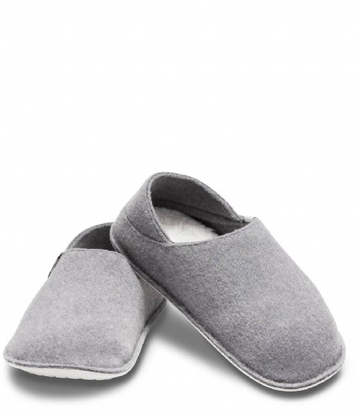 Crocs Slippers  Classic Convertible Slipper  Charcoal/Pearl White (01R)