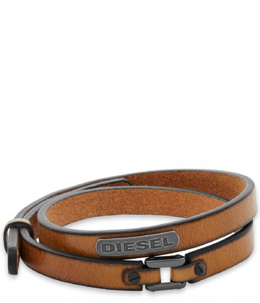 Diesel Armband Coiled DX0984040 Bruin