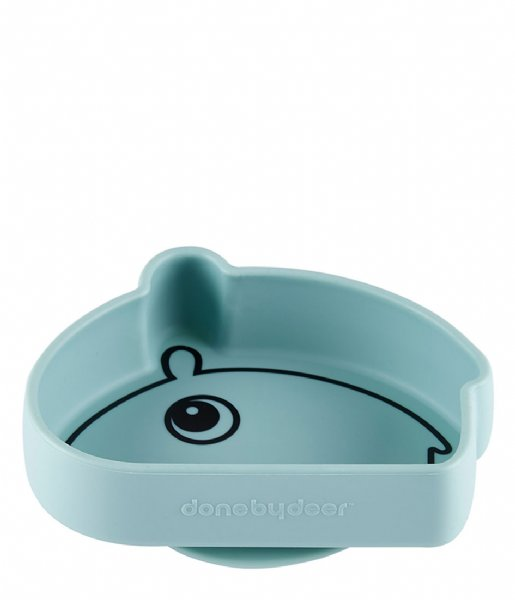 Done by Deer Baby Accessoire Silicone Stick and Stay Bowl Ozzo Blue (1809332)
