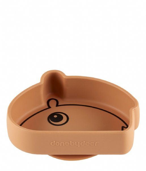 Done by Deer Baby Accessoire Silicone Stick and Stay Bowl Ozzo Mustard (1809334)