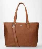 FMME Caithy Laptop Business Bag Nature 15.6 Inch cognac (023)