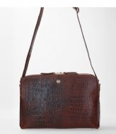 FMME Carmen Crossbody Croco brown (021)