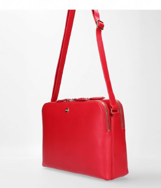 FMME Crossbodytas Carmen Crossbody Grain red (032)