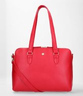 FMME Charlotte Laptop Business Bag Grain 13.3 Inch red (032)