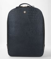 FMME Claire Laptop Backpack Croco 15.6 Inch black (001)