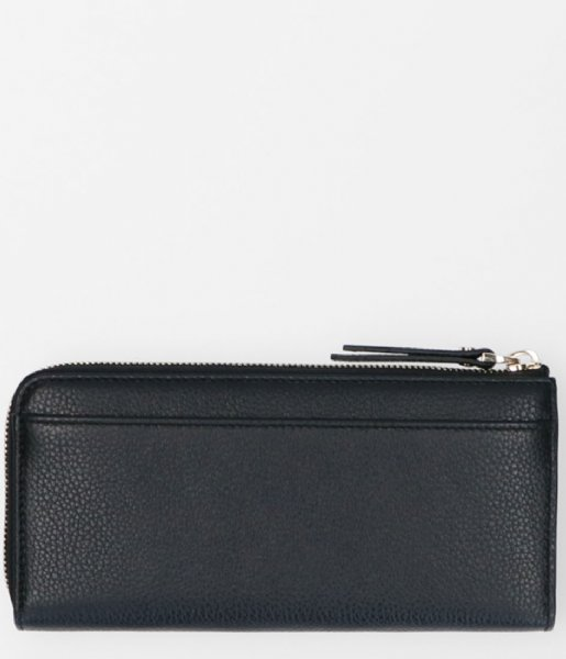 FMME Ritsportemonnee Wallet Large Grain black (001)