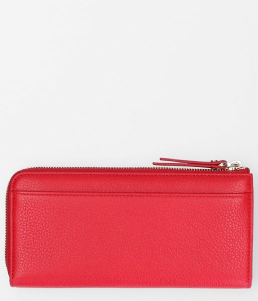 FMME Ritsportemonnee Wallet Large Grain red (032)
