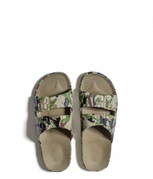 Freedom Moses Slippers Army Kids Slides khaki (5233678)