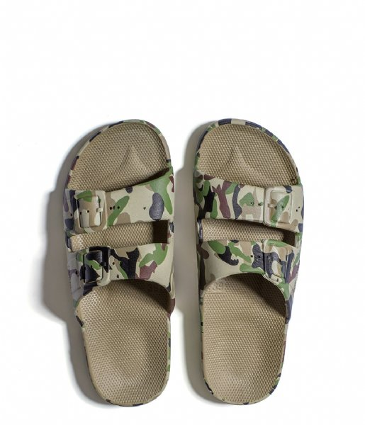 Freedom Moses Slippers Army Slides khaki (5233678)