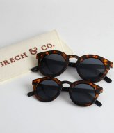 Grech and Co Sustainable Sunglasses Kids Solid Tortoise