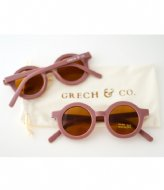 Grech and Co Sustainable Sunglasses Kids Tortoise and burlwood