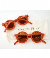 Grech and Co Sustainable Sunglasses Kids Rust