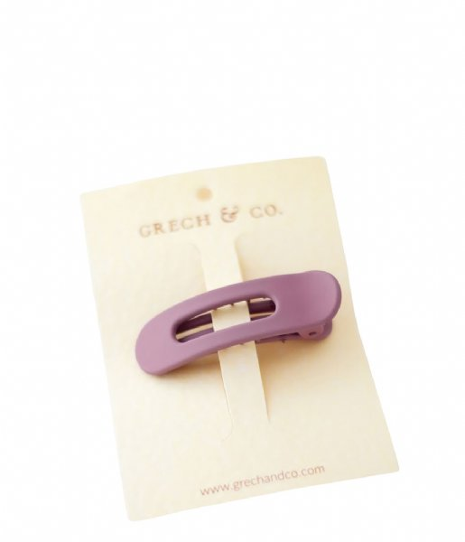 Grech and Co Haaraccessoire Grip Clip burlwood