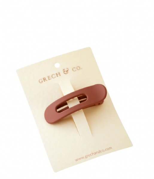 Grech and Co Haaraccessoire Grip Clip spice
