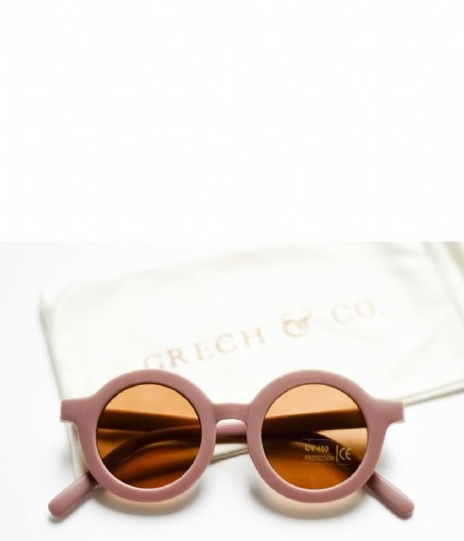Grech and Co Zonnebril Sustainable Kids Sunglasses 18 months - 10 years burlwood