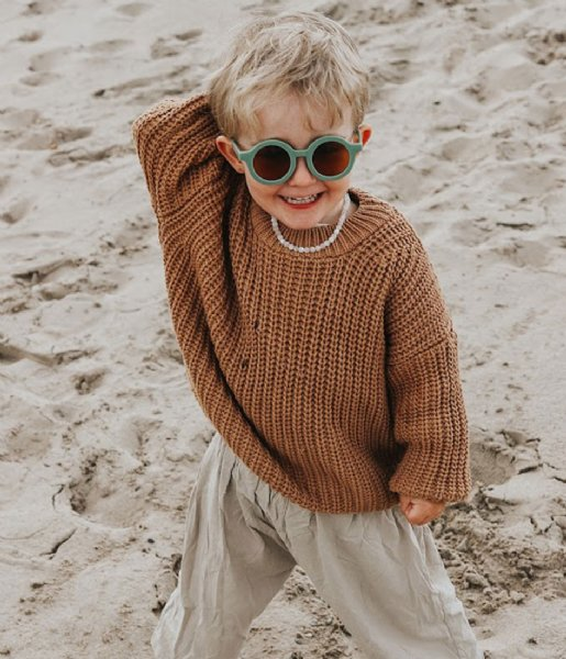 Grech and Co Zonnebril Sustainable Kids Sunglasses 18 months - 10 years fern