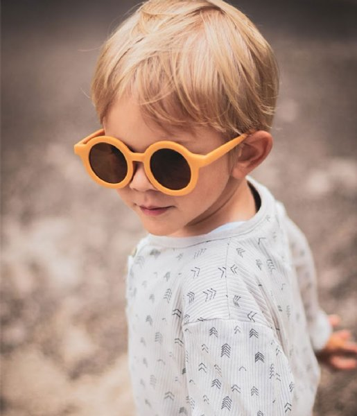 Grech and Co Zonnebril Sustainable Kids Sunglasses 18 months - 10 years golden