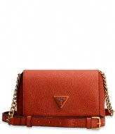 Guess Downtown Chic Mini Xbody Flap Whiskey
