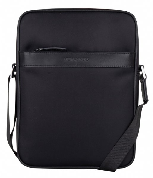 Hismanners Crossbodytas Finch Crossbody Tablet bag Black /  Black