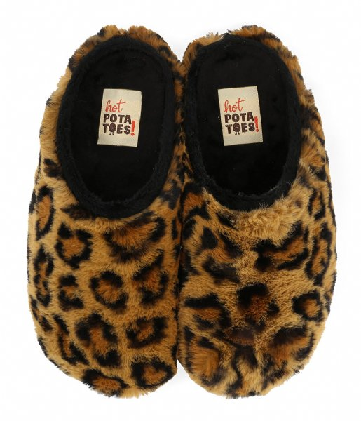 Hot Potatoes Pantoffels Hot Potatoes Tununak Leopard (10)