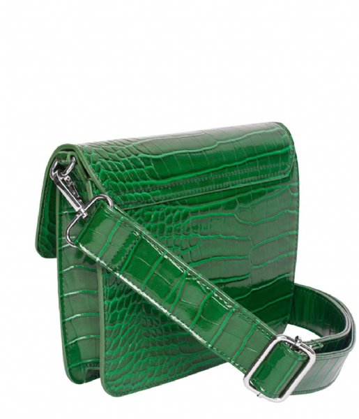HVISK Crossbodytas Cayman Shiny Strap Bag green (010)