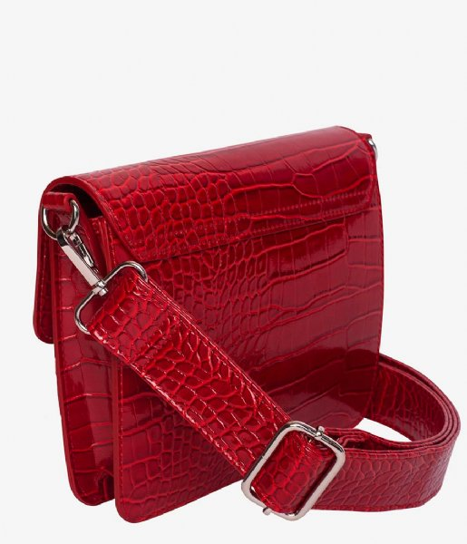 HVISK Crossbodytas Cayman Shiny Strap Bag wine red (066)