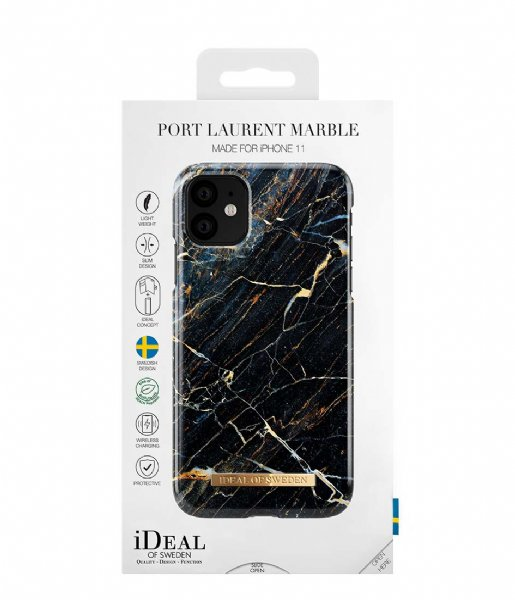 iDeal of Sweden Smartphone cover Fashion Case iPhone 11/XR Port Laurent Marble (IDFCA16-I1961-49)