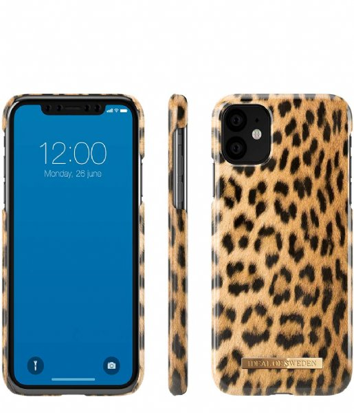 iDeal of Sweden Smartphone cover Fashion Case iPhone 11/XR Wild Leopard (IDFCS17-I1961-67)