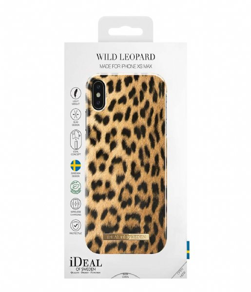 iDeal of Sweden Smartphone cover Fashion Case iPhone XS Max Wild Leopard (IDFCS17-I1865-67)