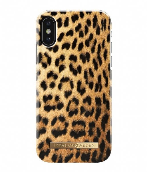 iDeal of Sweden Smartphone cover Fashion Case iPhone XS / X Wild Leopard (IDFCS17-IXS-67)