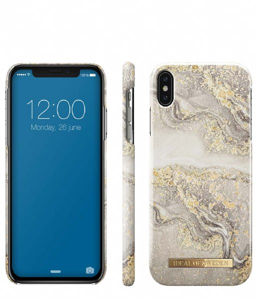 iDeal of Sweden Smartphone cover Fashion Case iPhone XS Max Sparkle Greige Marble (IDFCSS19-IXSM-121)