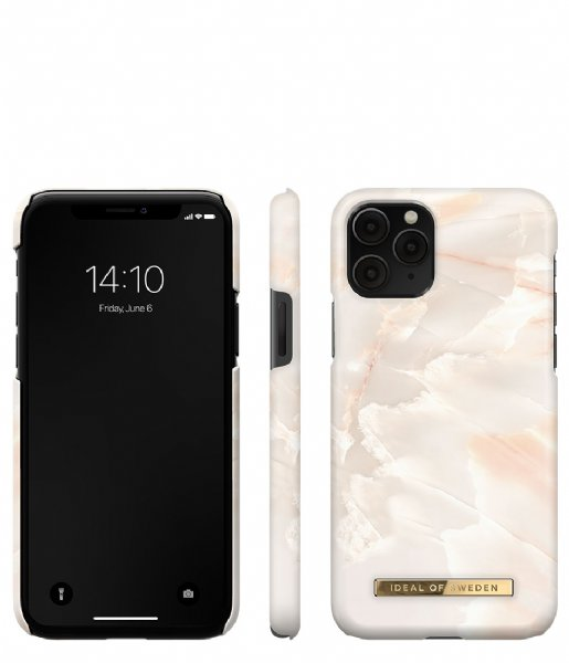 iDeal of Sweden Smartphone cover Fashion Case iPhone 11 Pro/XS/X Rose pearl marble (IDFCSS21-I1958-257)