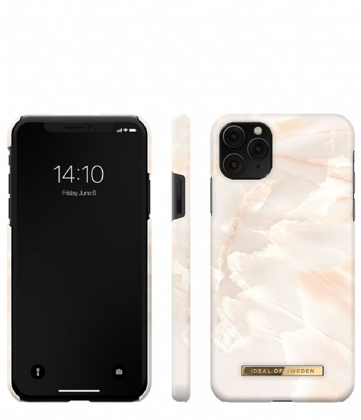 iDeal of Sweden Smartphone cover Fashion Case iPhone 11 Pro Max/XS Max Rose pearl marble (IDFCSS21-I1965-257)