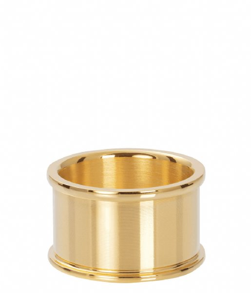iXXXi Ring Base ring 12 mm Gold colored (01)