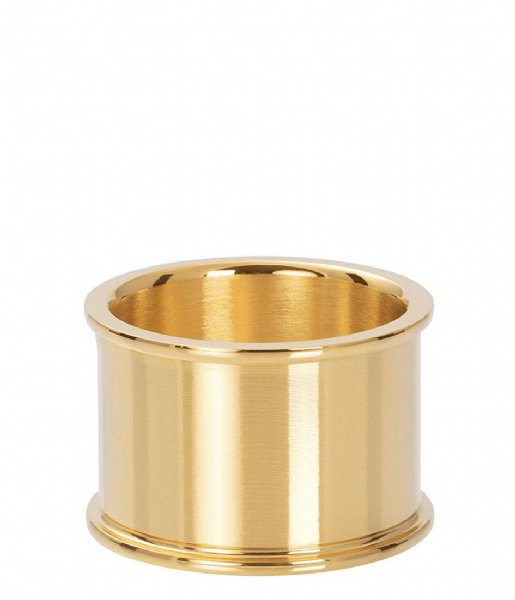 iXXXi Ring Base ring 14 mm Gold colored (01)