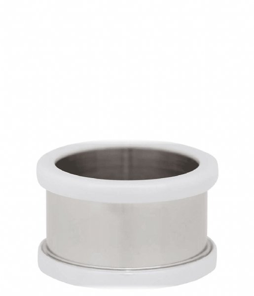 iXXXi Ring Base ring ceramic 10 mm Silver colored (03)