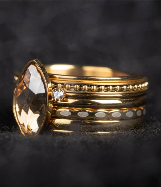 iXXXi Ring Base ring 10 mm Gold colored (01)