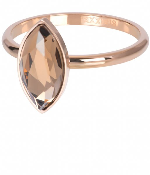 iXXXi Ring Royal Diamond Champagne Rosegold colored (02)