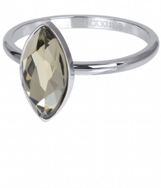 iXXXi Ring Royal Diamond Crystal Silver colored (03)