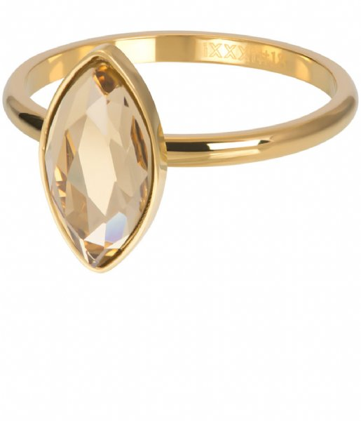 iXXXi Ring Royal Diamond Topaz Gold colored (01)