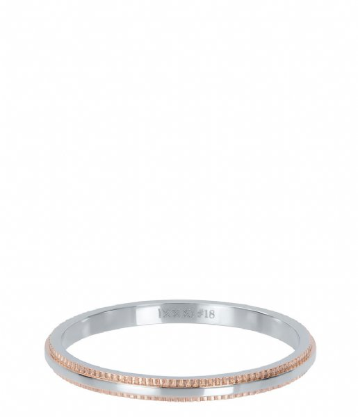 iXXXi Ring Double gear Bi color rose (13)