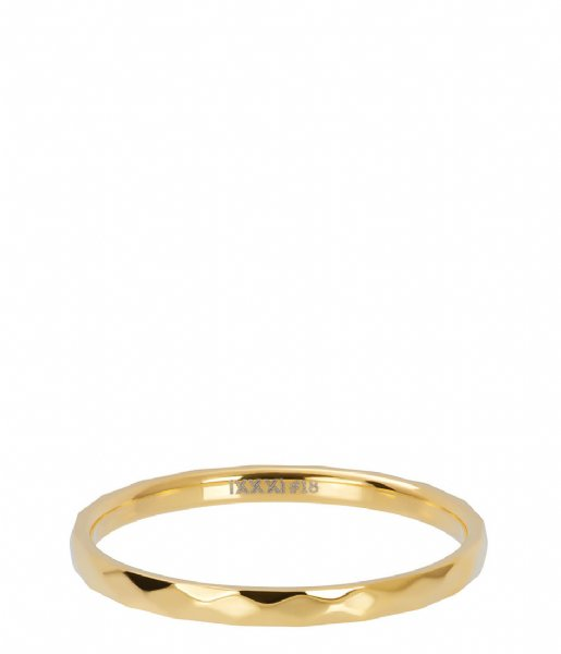 iXXXi Ring Hammerite Gold colored (01)