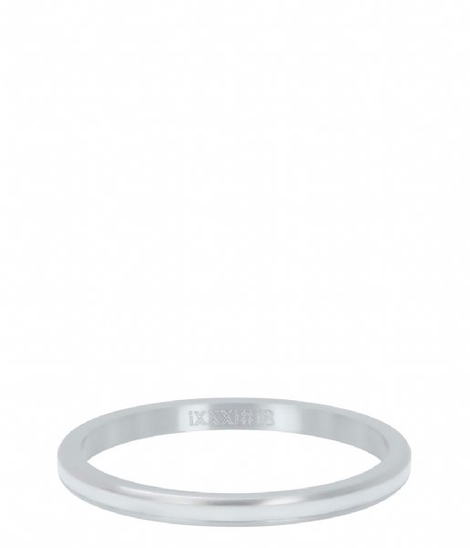 iXXXi Ring Line white Silver colored (03)